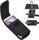 ykooe Cell Phone Pouch Nylon Holster Case with Belt Clip Cover